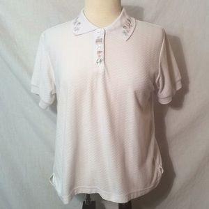 Tops - Vintage K. T. Golf polo short sleeve shirt top
